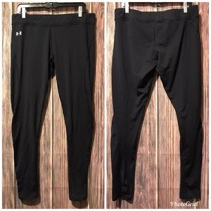 Women's Under Armour Black Cold Gear Leggings XL